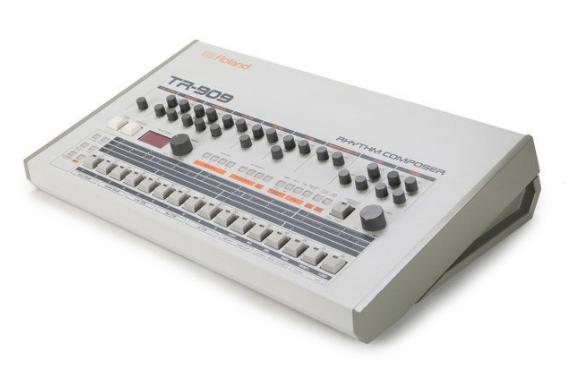 Techno muziek maken met de Roland TR-909: klassieke drumcomputer