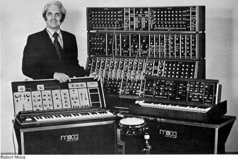 Geschiedenis elektronische muziek werd grotendeels bepaald door Robert Moog