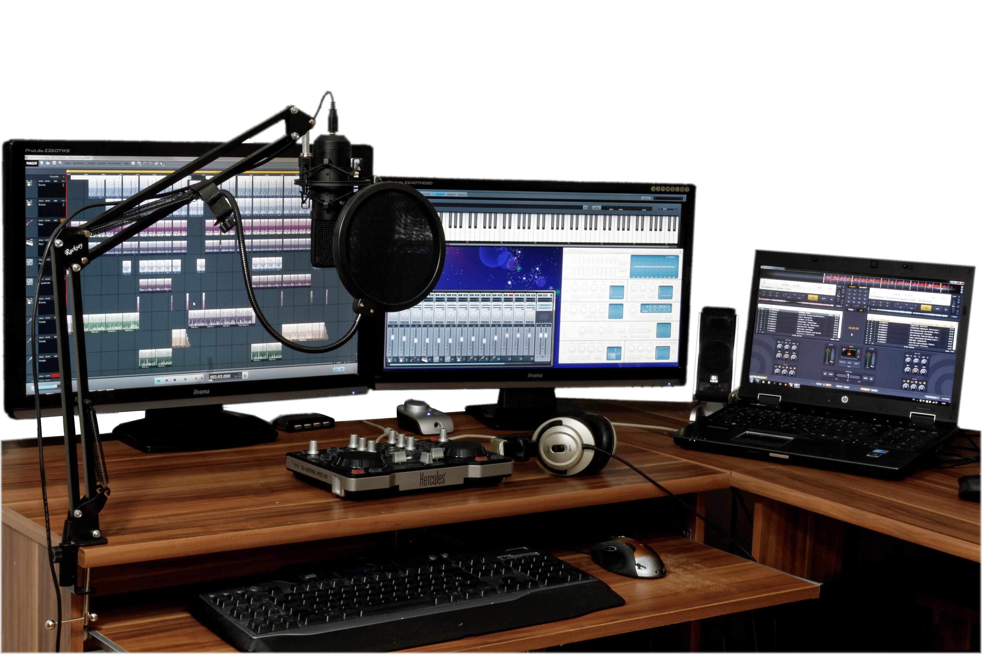 Muziek maken: de drie populairste programma's op de markt