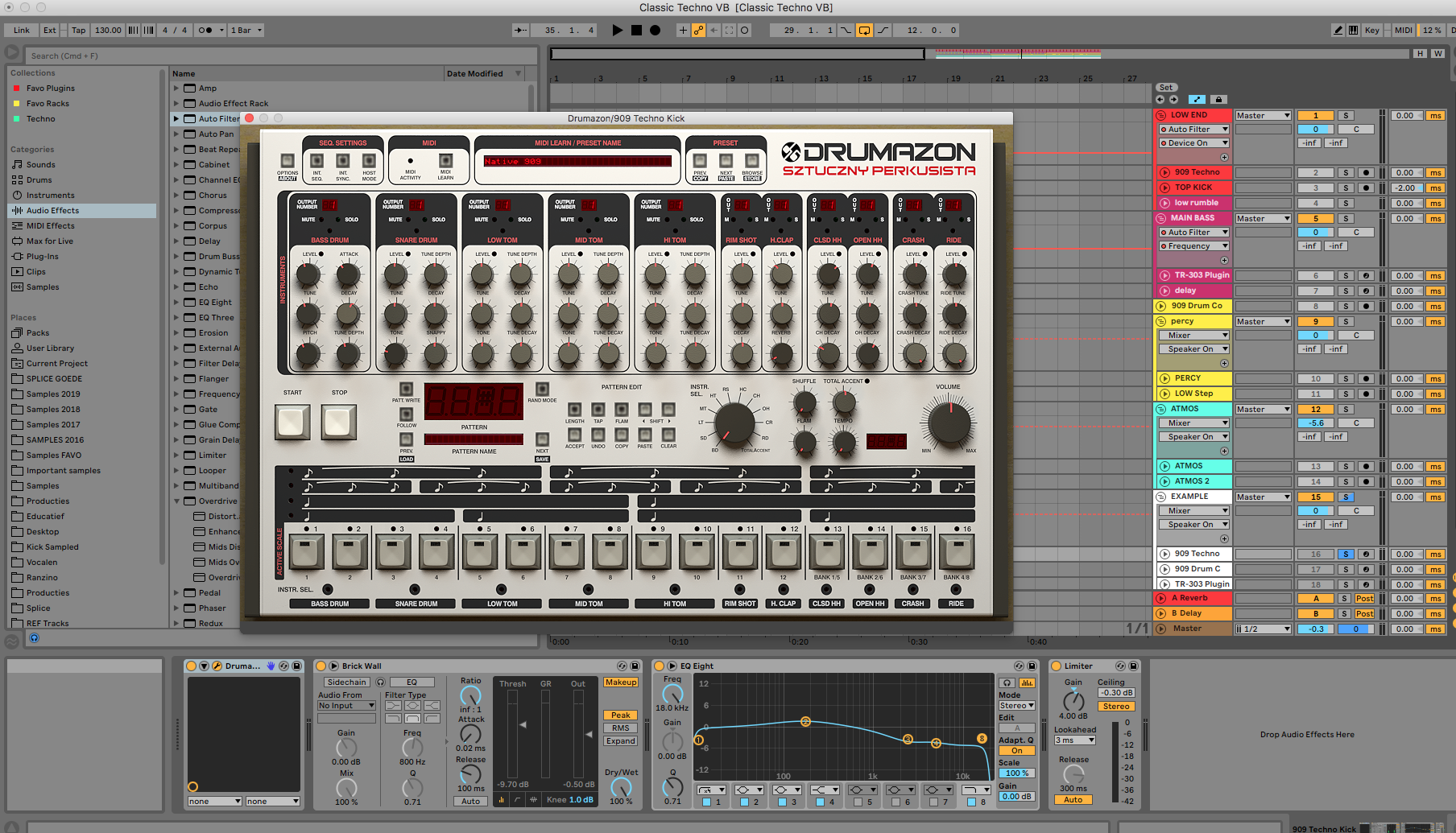 Drumazon in Ableton Live