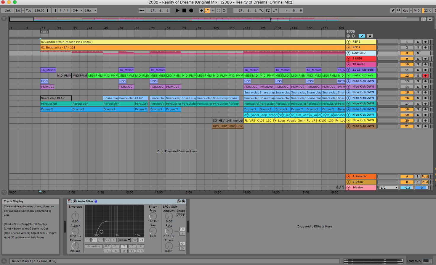 Referentie plaat Ableton Live
