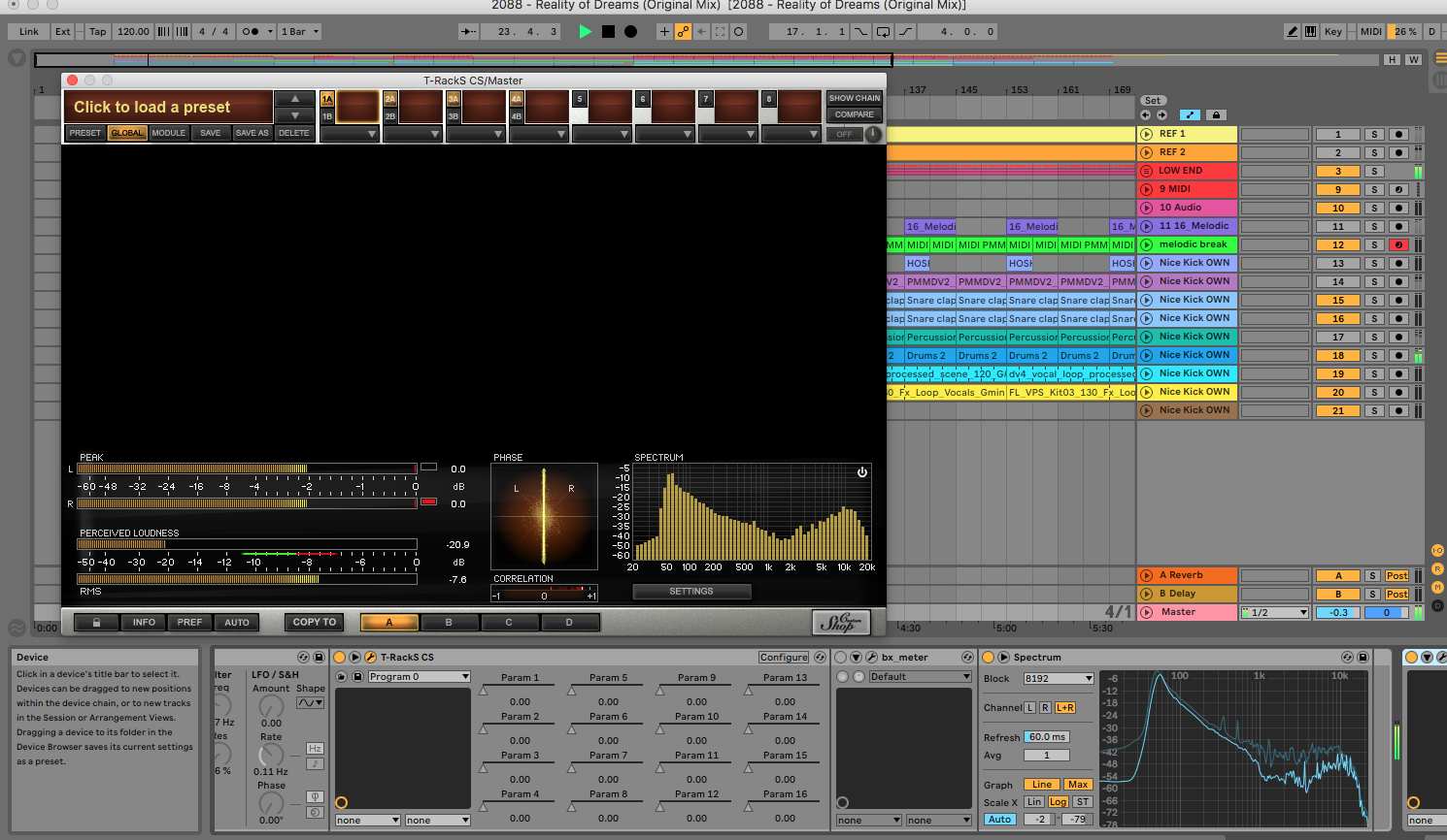 Meet tools in Ableton Live