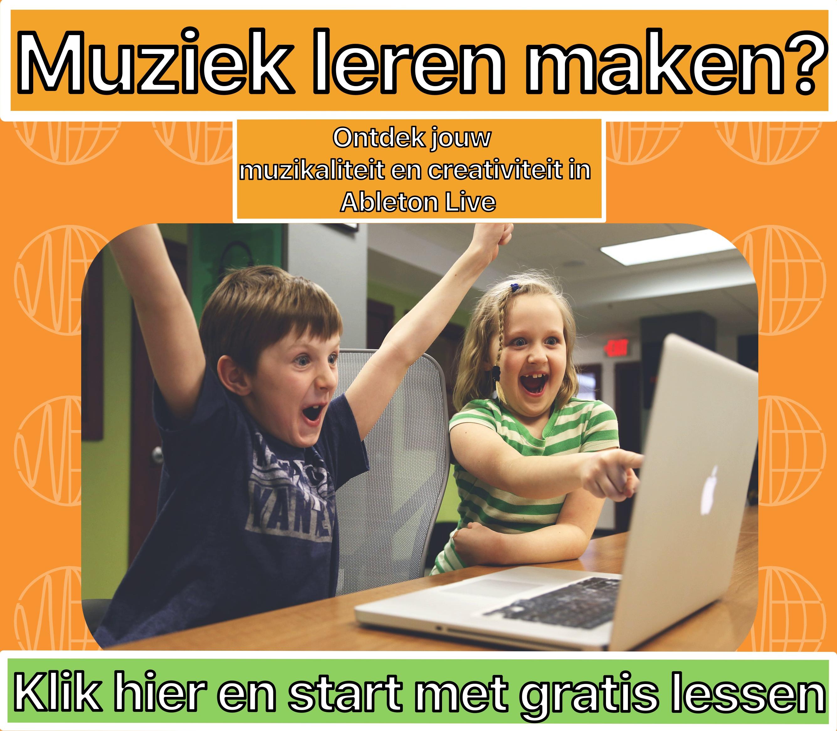 Zelf muziek leren maken