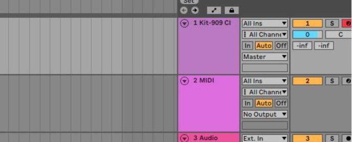 Ik zoek een hobby: Arrangement View Ableton Live