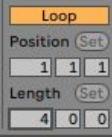 Loop lengte in Ableton Live