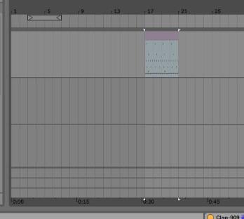 Ik zoek een hobby: Naar arrangement view slepen Ableton Live