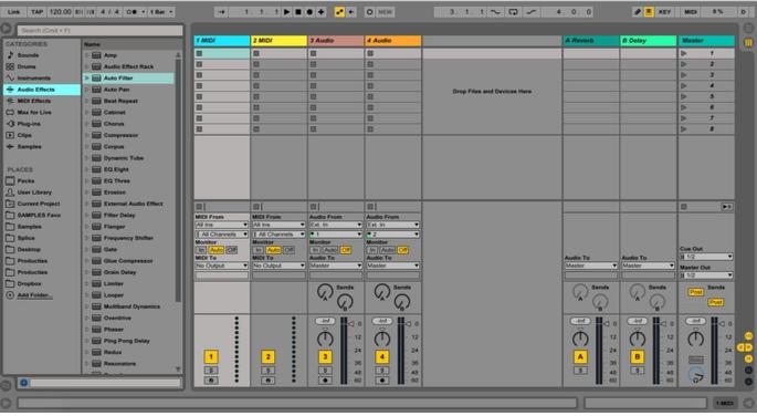 Ik zoek een hobby: Session view in Ableton Live